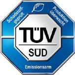 Наявність сертифікату TÜV #1